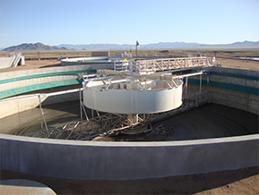 Water treatment facilities construction company work